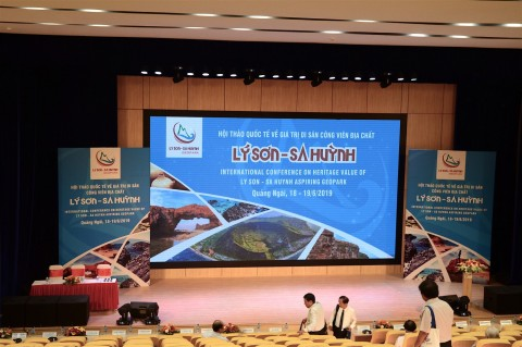 First international workshop in Ly Son – Sa Huynh Geopark